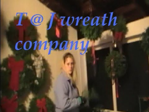 T@J Wreath Company { Maine }