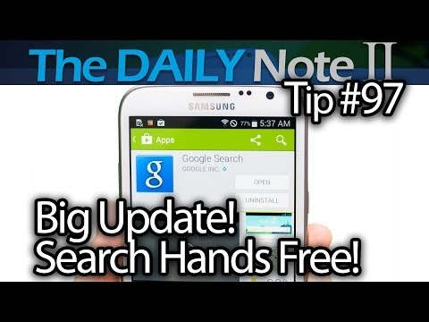 Samsung Galaxy Note 2 Tips & Tricks Episode 97: Enable Google Now for Any Screen & Lock Screen