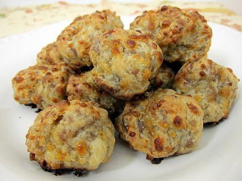 How to Make Sausage Balls, Sausage Balls Recipe, Recipe for Sausage Balls