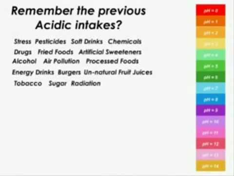 ALKALINITY vs. ACIDITY - Keep your body alkaline for optimal health
