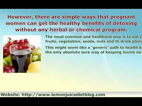 Detoxing While Pregnant! - An Important Question!