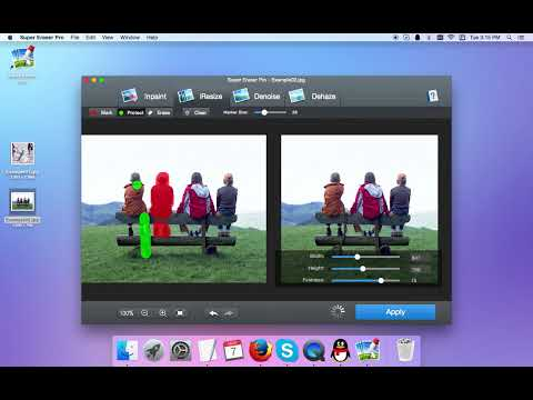 Photo Eraser Tutorials - How to instantly erase unwanted items from photo on Mac?