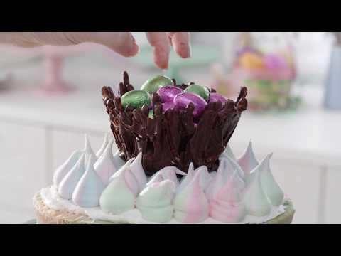Chocolate Pretzel Nest