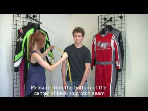 How To Measure For A Race Suit - Leaf Racewear