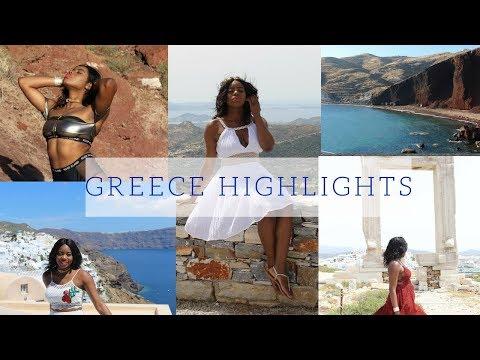 GREECE 2017 : My Birthday Trip to Greece  Athens  Santorini    Naxos