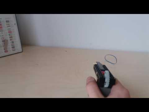 Easy Lego Rubberband Pistol