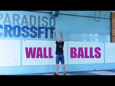 HOW TO IMPROVE WALL BALLS (Paradiso CrossFit)
