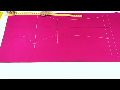 Bell Bottom Trouser Pants Cutting And Stitching Very Easy Method || trendy Fashion