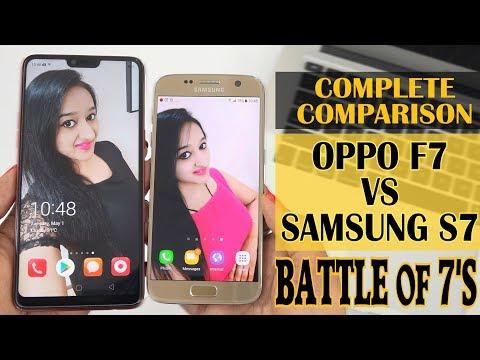 OPPO F7 VS SAMSUNG S7 - FULL COMPARISON