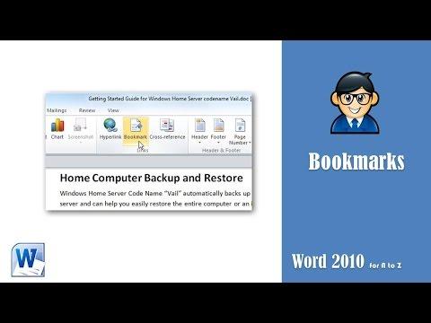 Using Bookmarks in Word - استخدام البوك مارك او المرجعية فى الورد - www.officeawy.com