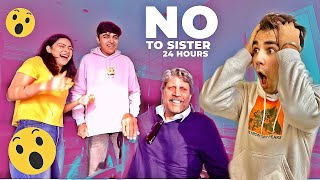 Saying NO to My Sister for 24 Hours | Rimorav Vlogs