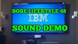 Bose Lifestyle 48 Series 3 Sound Demo