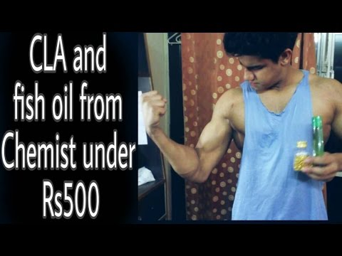 CLA And Fish Oil From Chemist For Rs500