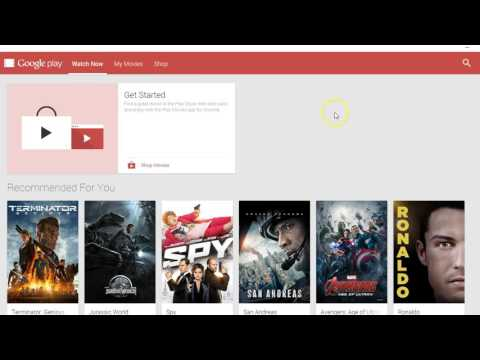 How To Watch Google Play Movies on Desktop or Laptop
