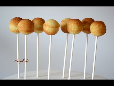 Cake Pops with Silicone Mold