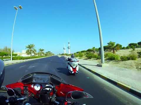 Riding in Kuwait Street's