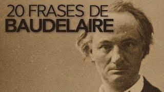 20 Frases de Baudelaire | El autor de Las flores del mal