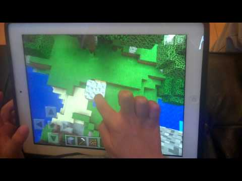 How to make a pressure plate and floating sand in Minecraft P.E.