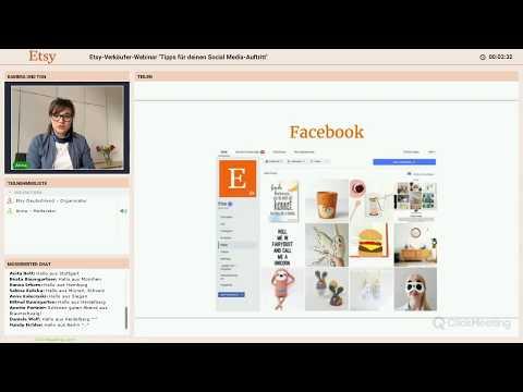 Etsy Verkäufer Webinar