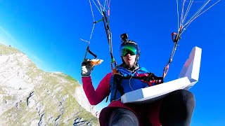 Eating Pizza While Hang Gliding | Best of the Week