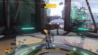Ratchet takes damage from... something
