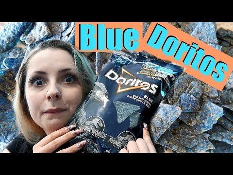 New BLUE Jurassic Park Doritos *TASTE TEST*