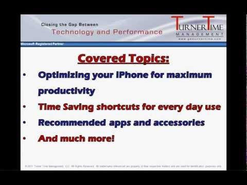 iPhone Training Workshop