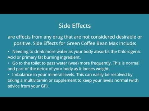 Green Bean Coffee Max Side Effects Details