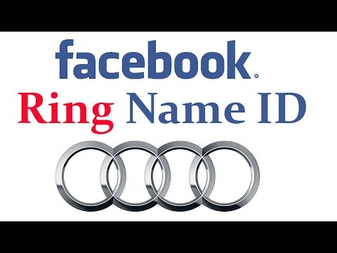 How to Make stylish Ring Name ID on Facebook