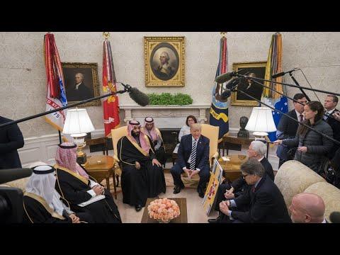 Congress vote looms over Saudi Arabia's US visit
