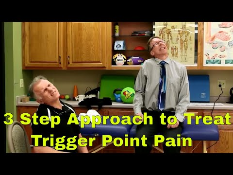 3 Step Approach To Self-Treat Trigger Point Pain-Including Fibromyalgia & Chronic Pain.