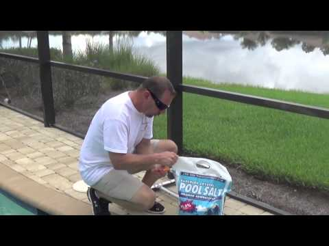 How To Add Salt To Your Pool | By Waterdrop Pools of Naples, Florida
