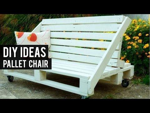DIY  Pallet Chair Ideas