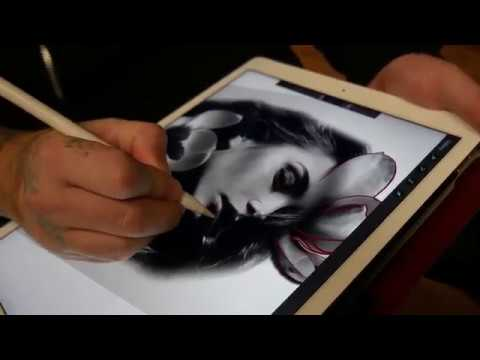 5 Tips to INSTANTLY up your tattoo stencil game with Procreate.