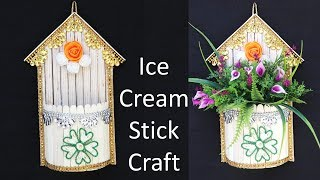 wall+hanging+flower+vase+with+popsicle+sticks Videos - 9tube.tv on ice cream sticks lamps, ice cream sticks crafts, ice cream sticks chair,
