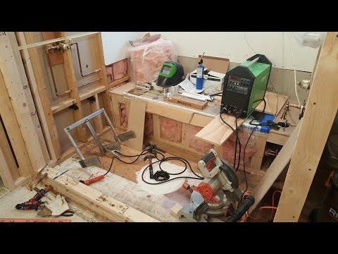 Stainless Steel Shower Bench Frame. Bathroom Remodeling. Part 14.