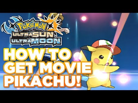 HOW TO GET ASH PIKACHU (I CHOOSE YOU) and PIKASHIUM Z Crystal in Pokémon Ultra Sun and Moon