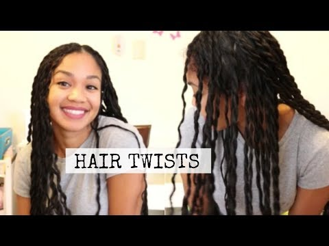 HOW TO: Twists   Hairstyles for Curly Hair