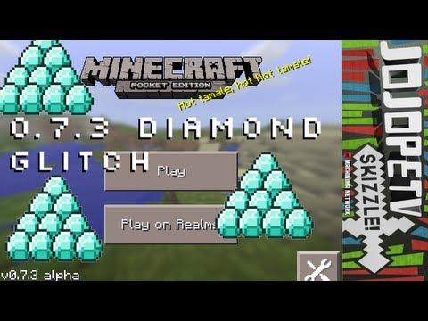 Minecraft Pocket Edition - Unlimited Diamonds Glitch 0.7.3 iPod/iPad/iPhone