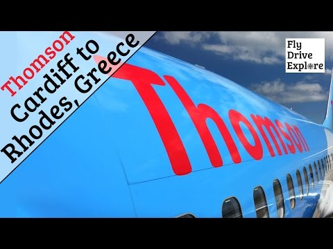 Thomson Airways Flight Review TUI  - Cardiff Airport to Rhodes