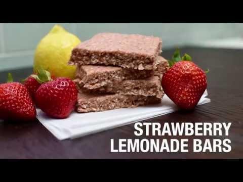Strawberry Lemonade Shakeology Bars