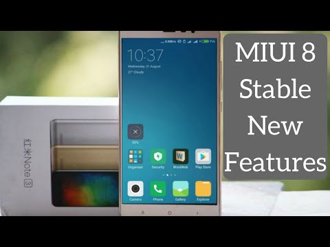 MIUI 8 Stable for Redmi Note 3 | What's New? Awesome New Design and Look with Cool Features