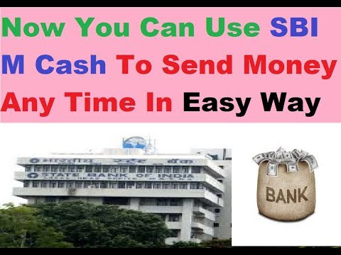 SBI M Cash || How You Can Send Money Without Add Benefeciary