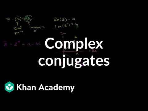Complex conjugates | Imaginary and complex numbers | Precalculus | Khan Academy
