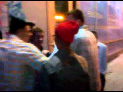 New England Patriots Aaron Hernandez and Rob Gronkowski New Years Ever 2011