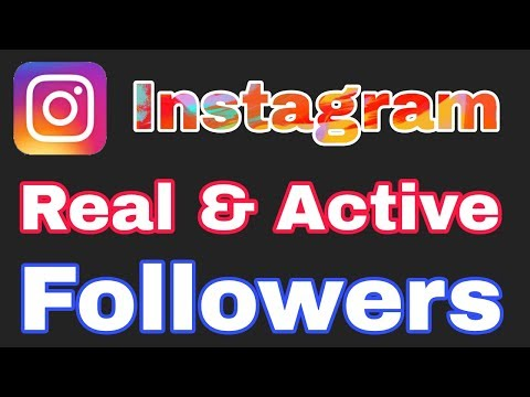 How To Get Unlimited Real Instagram Followers & Likes Daily | How To Increase REAL ACTIVE Followers