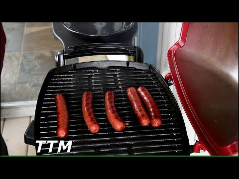 Hot Dogs on the Weber Q