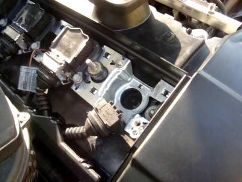 BMW 3 Series E90 Valve Cover And Eccentric Shaft Sensor DIY