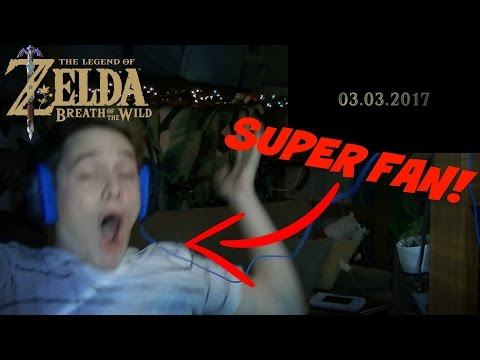 Insane Reaction to Zelda Breath of the Wild Release Date Reveal!!!!!