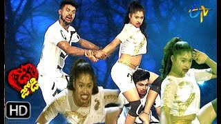 Somesh and Shresti Performance   Dhee Jodi   7th August 2019     ETV Telugu